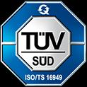 ISO/TS 16949 - Qualitätsmanagement bei Automobilzulieferern.